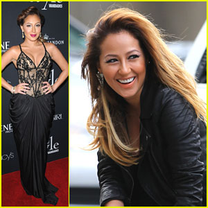 Adrienne Bailon: Photo Shoot in Tribeca