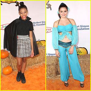 Ariel Winter: Camp Ronald McDonald Halloween Carnival with Amandla Stenberg