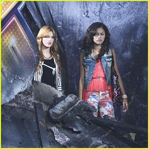 Zendaya & Bella Thorne: Fire on 'Shake It Up'!