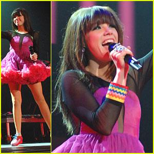 Carly Rae Jepsen: Pink Tutu in Las Vegas!