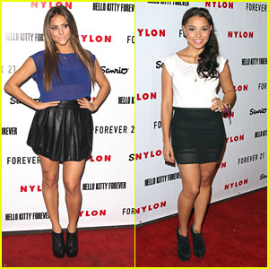 Cassie Scerbo &#038; Jessica Parker Kennedy: Nylon IT Girls