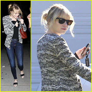 Emma Stone: Monday Dinner with Friends