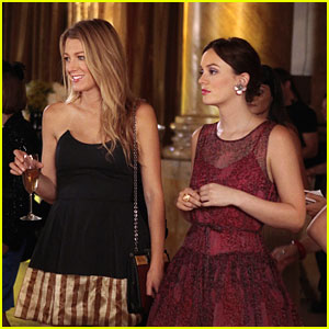 Leighton Meester: Waldorf Designs Fashion Show on 'Gossip Girl'