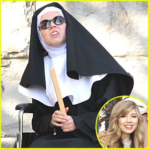 Jennette McCurdy: Nun For 'Swindle'!