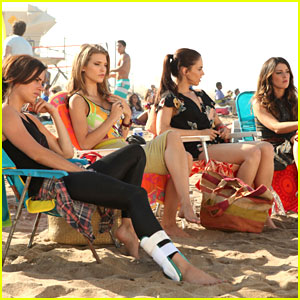 It's All Fun & Games for Jessica Stroup on '90210'