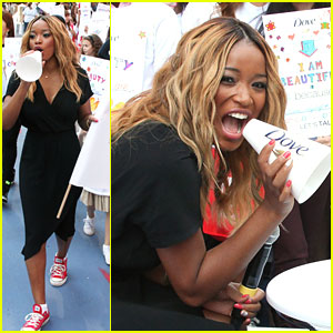 Keke Palmer: Dove Self-Esteem Weekend Kick Off