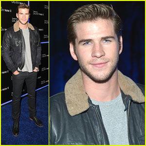 Liam Hemsworth: Samsung Galaxy Note Launch