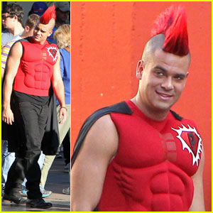 Mark Salling: 'Glee' Superhero!