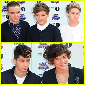 One Direction - BBC Radio 1 Teen Awards Red Carpet 2012