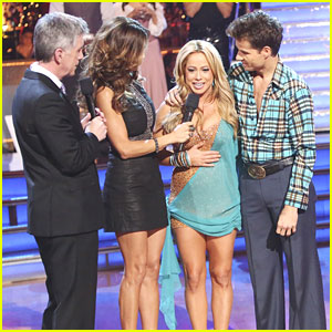 Sabrina Bryan & Louis van Amstel: Voted Off 'Dancing With The Stars: All-Stars'