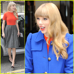 Taylor Swift: Blue Coat at BBC