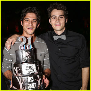Tyler Posey: 21st Birthday Party with Dylan O'Brien!