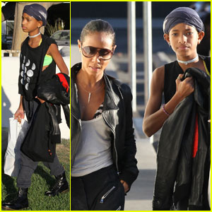 Willow Smith: Shopping Day with Mom Jada