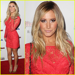 Ashley Tisdale: Rolling Stone AMA After Party!