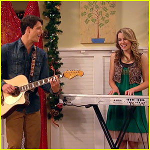 Bridgit Mendler & Shane Harper: 'Song for You' Performance - Watch Now!