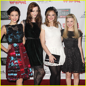 'Bunheads' Cast: Hollywood Christmas Parade 2012
