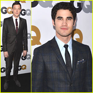 Cory Monteith & Darren Criss: GQ Men of the Year Party