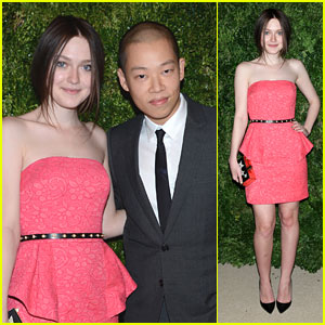 Dakota Fanning: CFDA/Vogue Fashion Fund Awards 2012