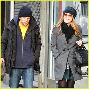 Dakota Fanning: 'Night Moves' Walk with Jesse Eisenberg