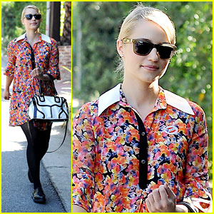 Dianna Agron: Presidental Voting Person