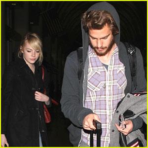 Emma Stone & Andrew Garfield: LAX Landing