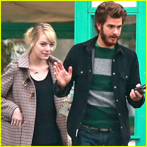 Emma Stone &#038; Andrew Garfield: La Super-Rica Taqueria Twosome