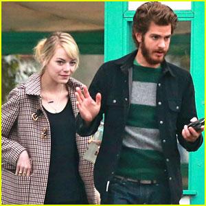 Emma Stone & Andrew Garfield: La Super-Rica Taqueria Twosome