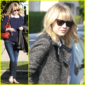 Emma Stone: Studio City Stop
