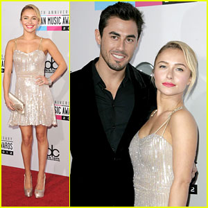 Hayden Panettiere - AMAs 2012 with Scotty McKnight!