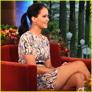 Jennifer Lawrence: 'Ellen' Appearance Today!