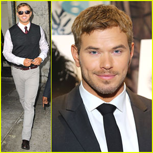 Kellan Lutz: 'Lincoln' Screening in NYC