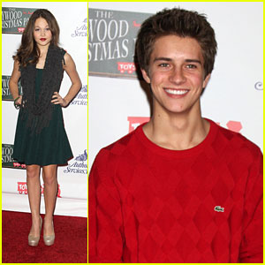Kelli Berglund & Billy Unger: Christmas Parade Pair