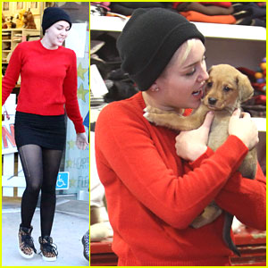 Miley Cyrus: Meet New Pup, Penny Lane!