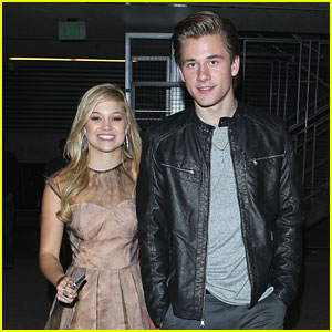 Olivia Holt &#038; Luke Benward: Breaking Dawn After Party Pair