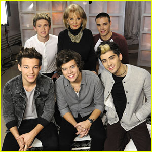 One Direction Makes Barbara Walters' '10 Most Fascinating' List