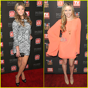 Greer Grammer: TV Guide Hot List with Sasha Pieterse & Keegan Allen