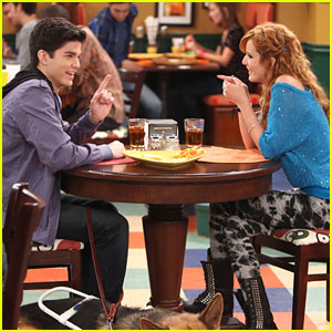 Bella Thorne & Chase Austin: Cafeteria Date on 'Shake It Up'