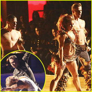 Shawn Johnson &#038; Derek Hough: Samba &#038; Waltz on 'Dancing With The Stars: All-Stars'