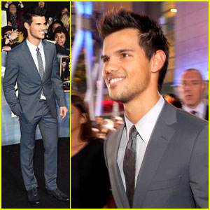 Taylor Lautner: 'The Twilight Saga: Breaking Dawn Part 2' Premiere