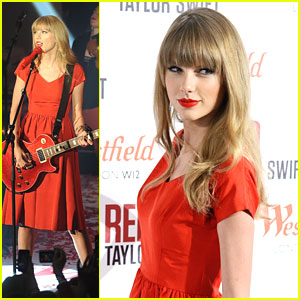 Taylor Swift Lights Up Westfield London