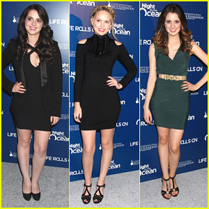 Vanessa &#038; Laura Marano: A Night By The Ocean Gala with Meaghan Martin