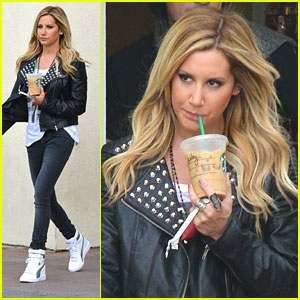 Ashley Tisdale: Starbucks Stop