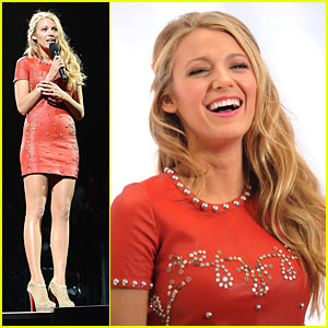 Blake Lively: 12-12-12 Concert Cutie