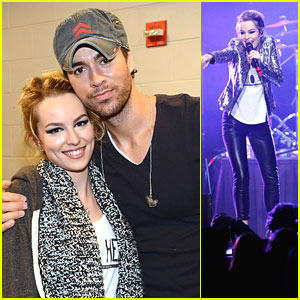 Bridgit Mendler: Power 96.1 Jingle Ball 2012