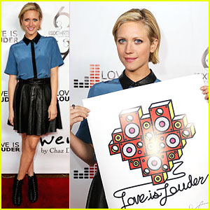 Brittany Snow: Chaz Dean's Holiday Party!