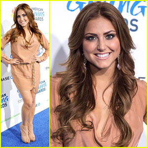 Cassie Scerbo: American Giving Awards 2012