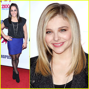 Chloe Moretz & Jordyn Wieber: Z100's Jingle Ball 2012