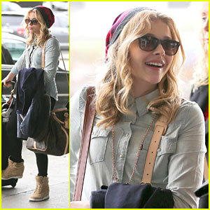 Chloe Moretz: Big Apple Bound