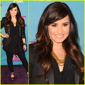 Demi Lovato: 'X Factor' Finale Party