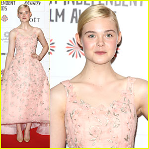 Elle Fanning: Moet British Independent Film Awards 2012